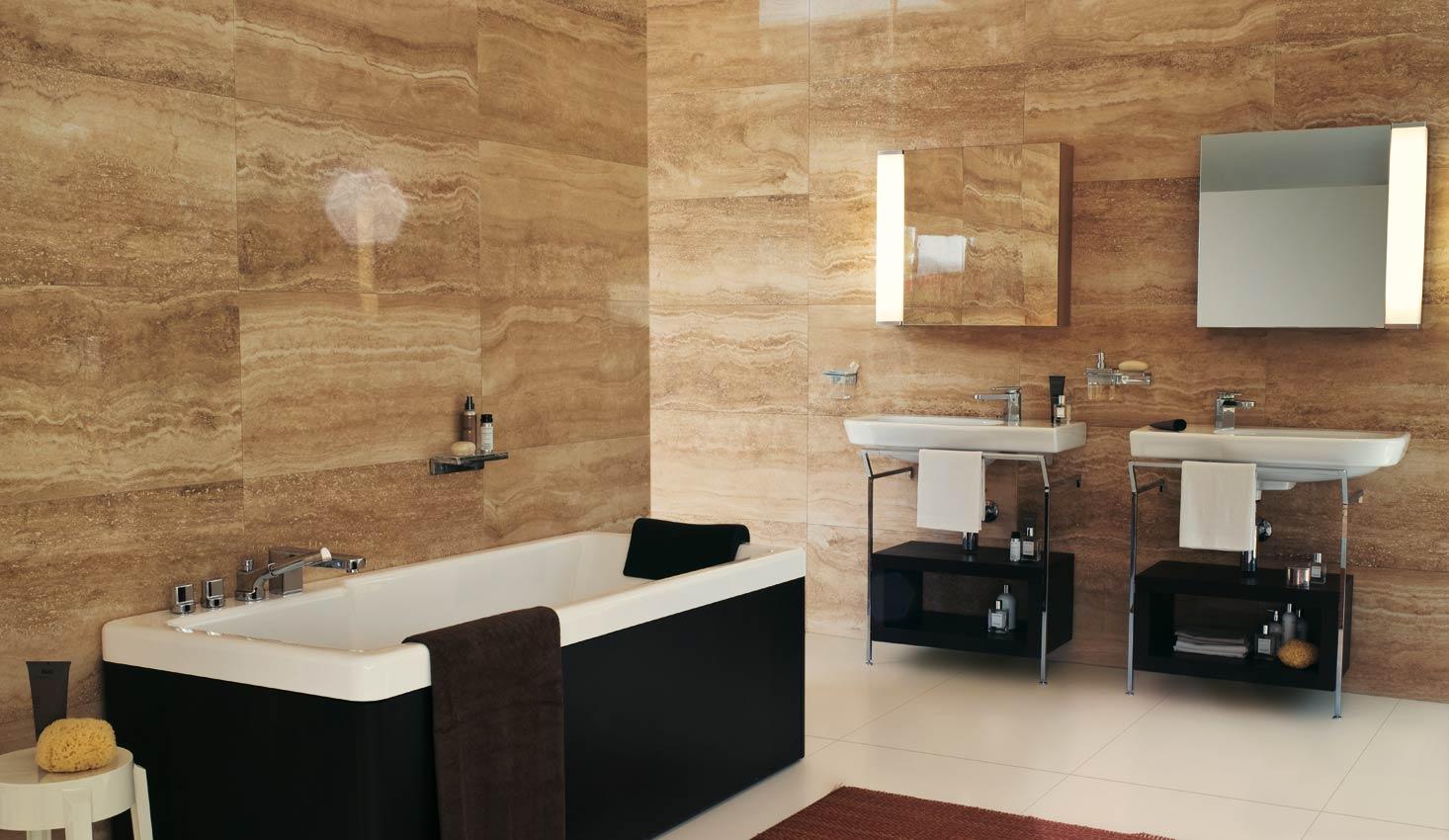Bagno effetto marmo con i nuovi rivestimenti tante soluzioni da